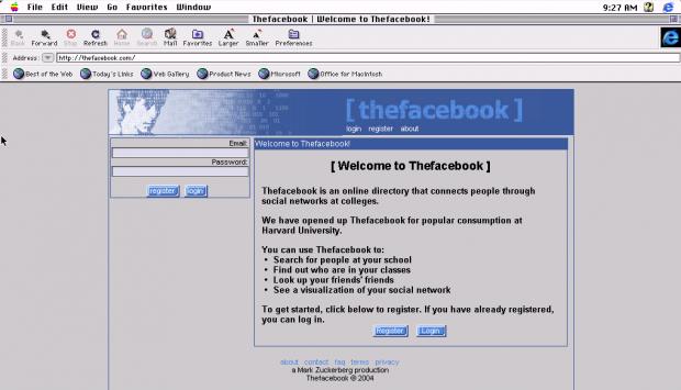 Wie Facebook und ZEIT ONLINE vor zehn Jahren aussahen