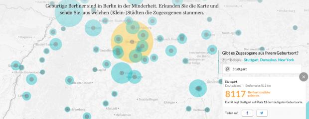 """Der """"Zugezogenen-Atlas"""" enttarnt die Wahlberliner"""