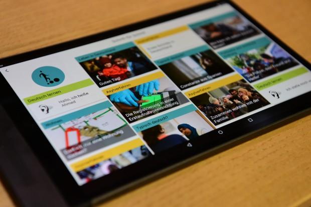 Integration per App: Crashkurs Deutsch-Sein für Flüchtlinge