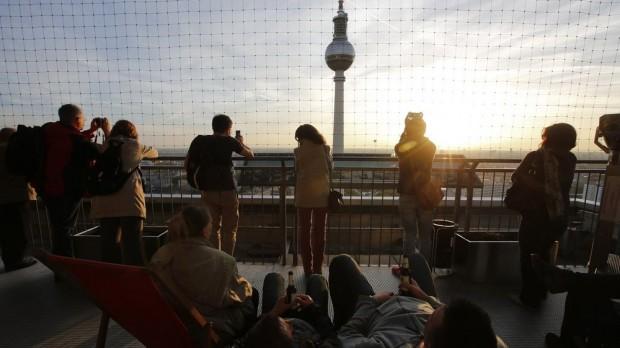 Berlin ist schön - auch für Zugezogene. © Fabrizio Bensch/Reuters