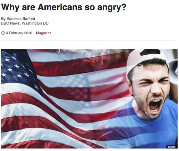 Warum die Amerikaner so wütend sind