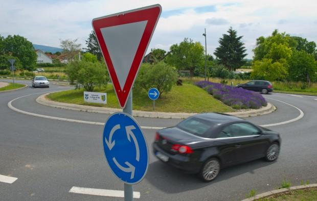 USA fährt nicht auf Kreisverkehr ab