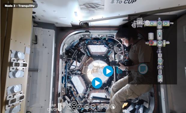 Finden Sie das Klo auf der ISS?