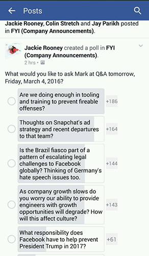 Soll Facebook Donald Trump verhindern?
