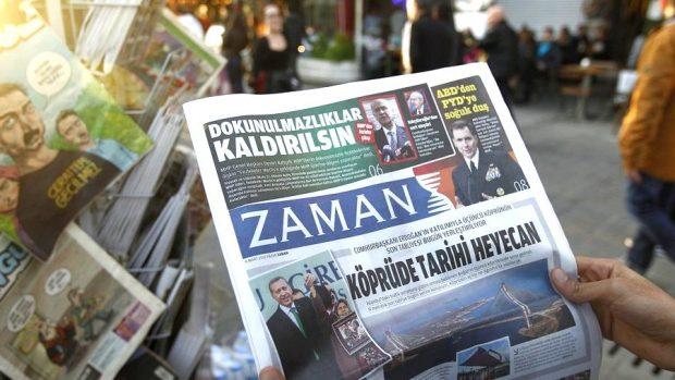 Welche Medien in der Türkei geschlossen wurden