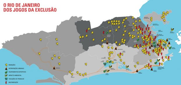 Rio De Janeiro Karte.Rio De Janeiro Mit Handys Gegen Pistolen