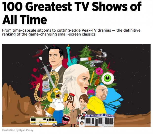 Die besten TV-Sendungen der Welt. @ Screenshot Rolling Stone