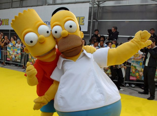 Frauen haben bei den Simpsons (fast) nichts zu sagen