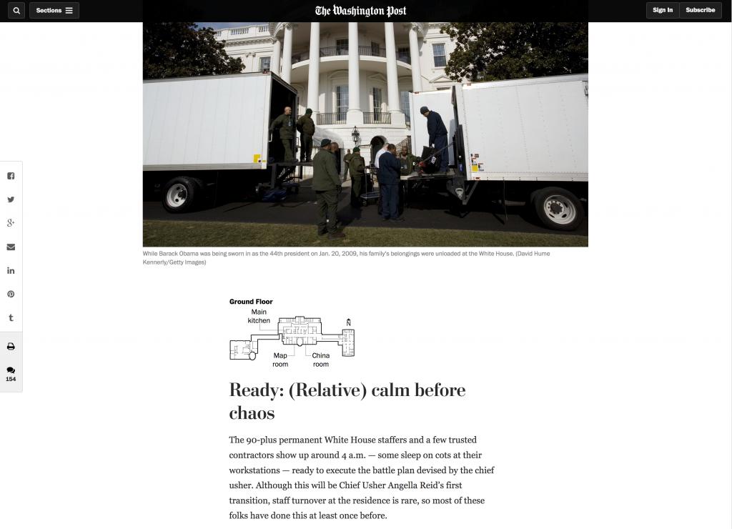 Fünf verrückte Stunden im Weißen Haus
