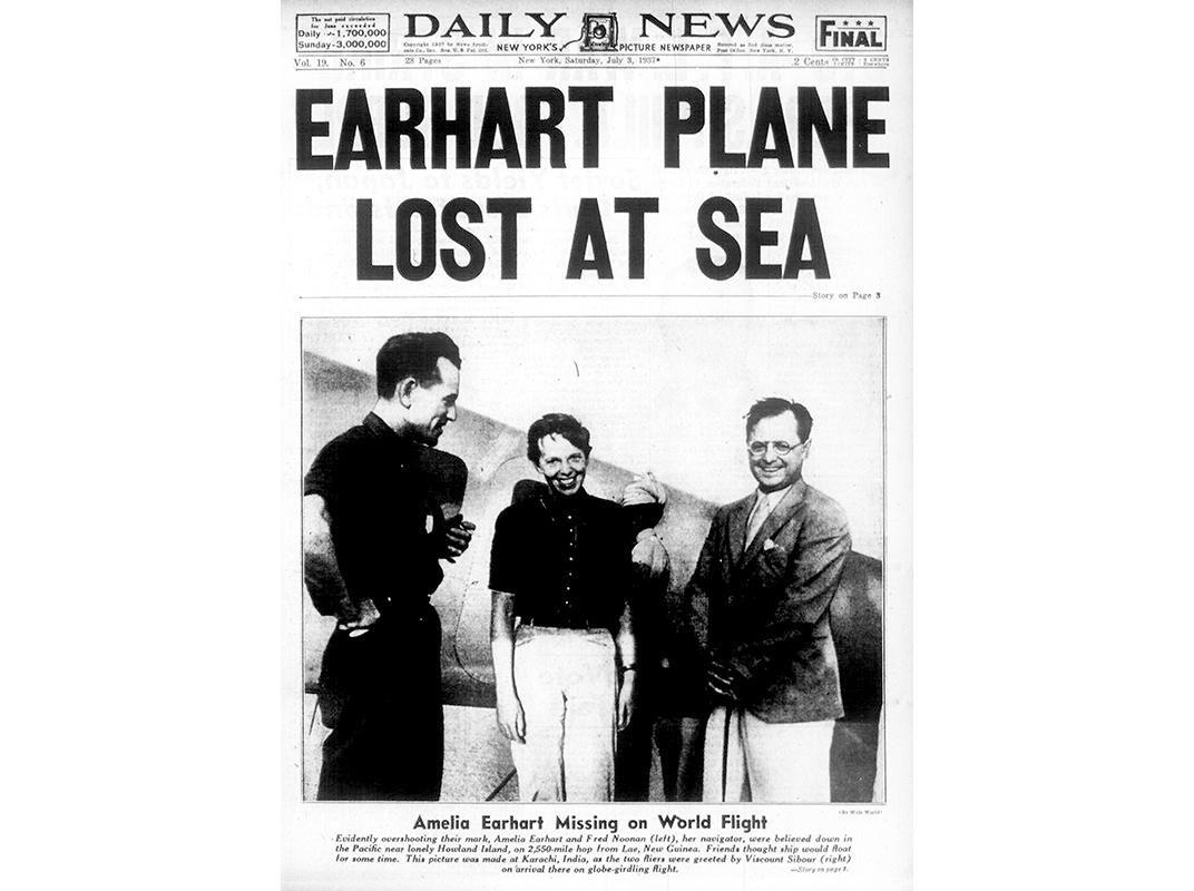 Das Geheimnis der verschollenen Flugzeugpilotin Amelia Earhart