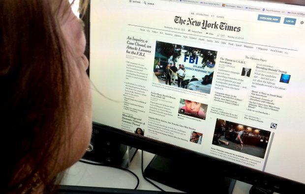 Rätselraten in den Kommentarspalten der New York Times