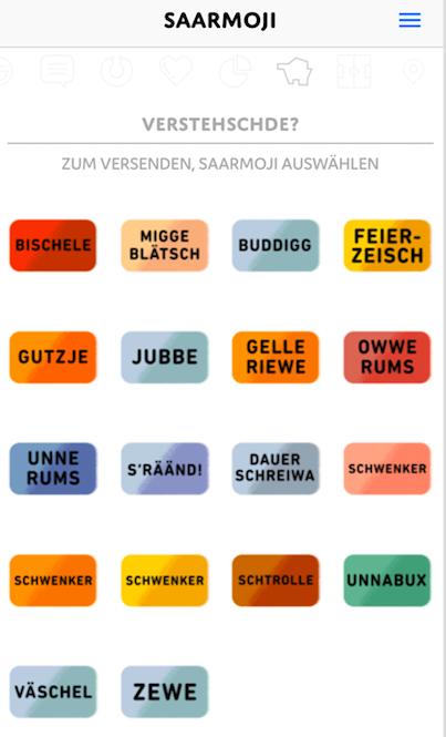 Saarländer trifft man überall – und dank Emojis versteht man sie jetzt auch