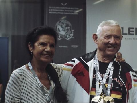 Gewichtheben: Dieser 81-Jährige ist der stärkste Mann Berlins