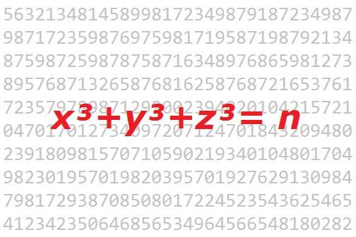 Diophantische Gleichungen: Die Antwort ist 42