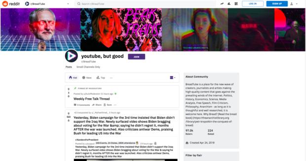 Youtube: Auf der anderen Seite die linken Influencer