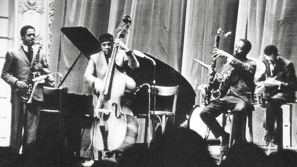 Das Charles Mingus Quintet 1964 in der Wuppertaler Stadthalle (© F. Günter Krings)