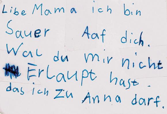 Acnl Briefe Von Mama : Brief an mama zeit der leser