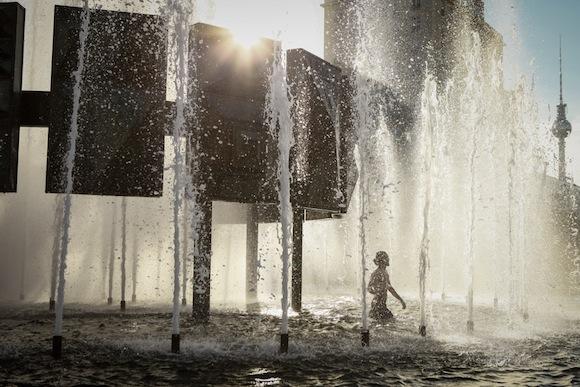 Brunnen am Strausberger Platz © Amélie Losier