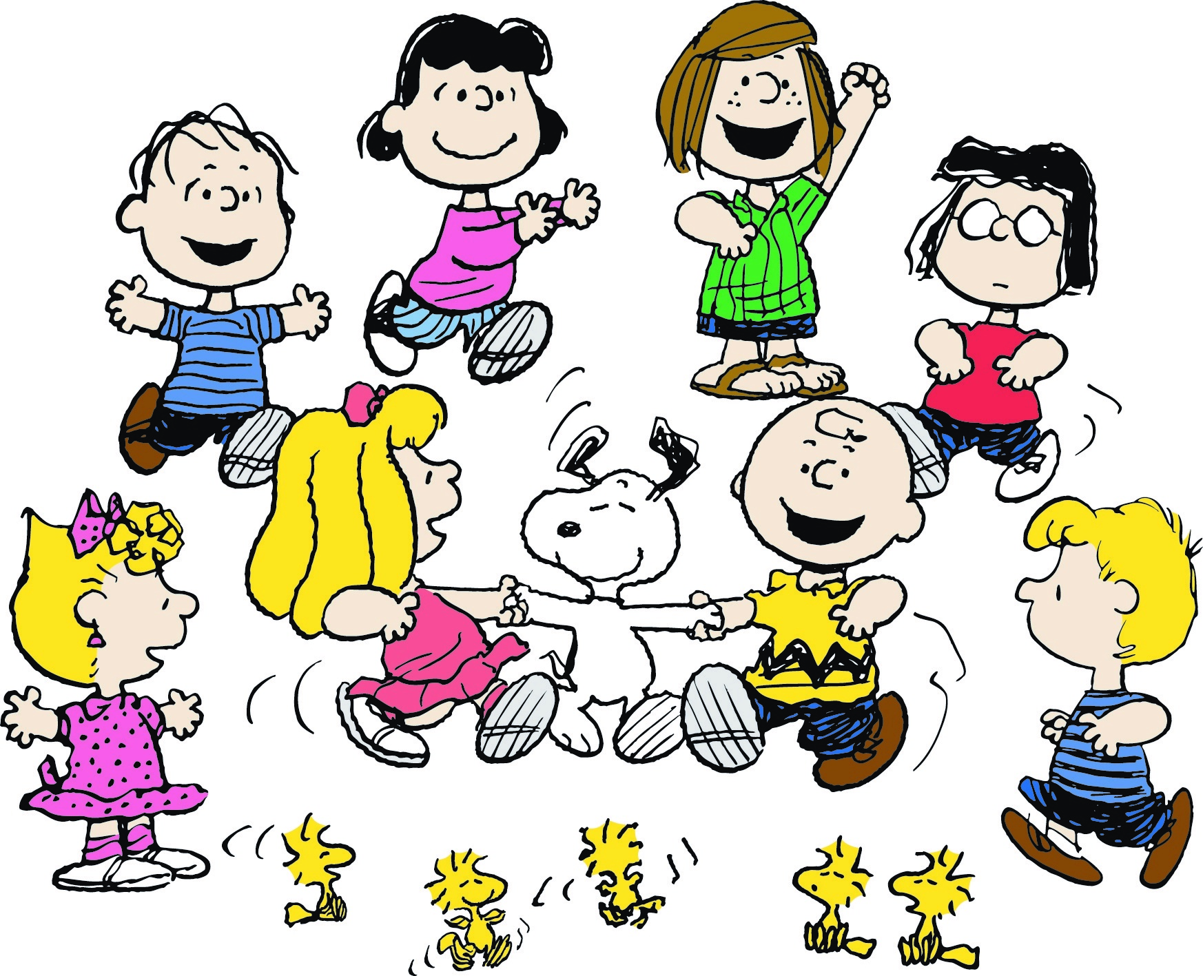 Happy birthday peanuts heiter bis gl cklich - Charlie brown bilder ...