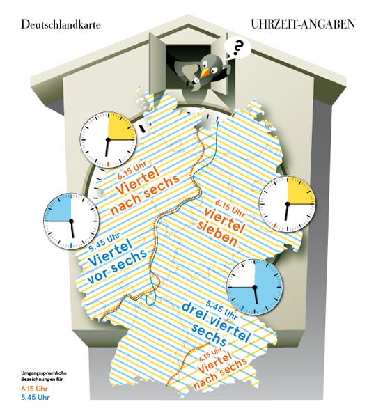 Karte Uhren