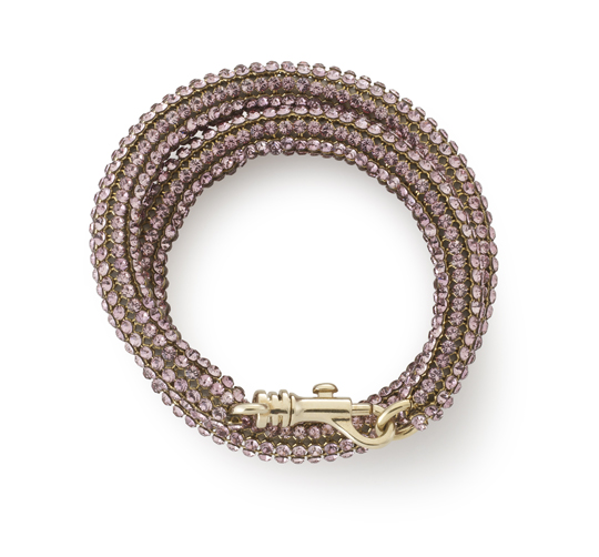 Atelier Swarovski by Christopher Kane Bolster Bracelet Antique Pink shadow