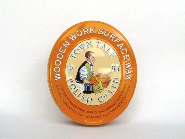 Orangenwachs zur Holzpflege Torquato