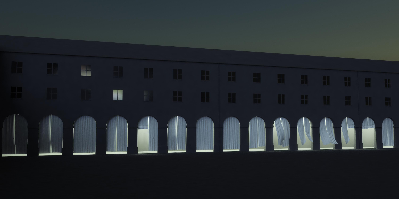 venedig in m nchen die installation replika von ayzit. Black Bedroom Furniture Sets. Home Design Ideas