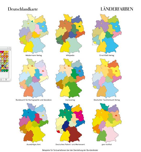 10 Karte Bundeslaender blog