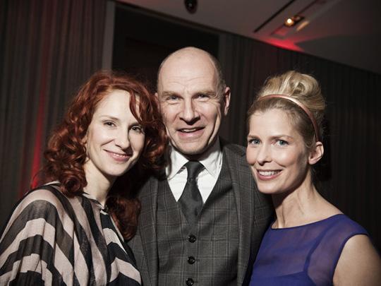 Die Schauspieler Chiara Schoras, Götz Schubert und Valeria Niehaus