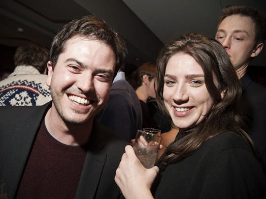 Fotograf Nacho Alegre und Milena Carstens vom ZEITmagazin