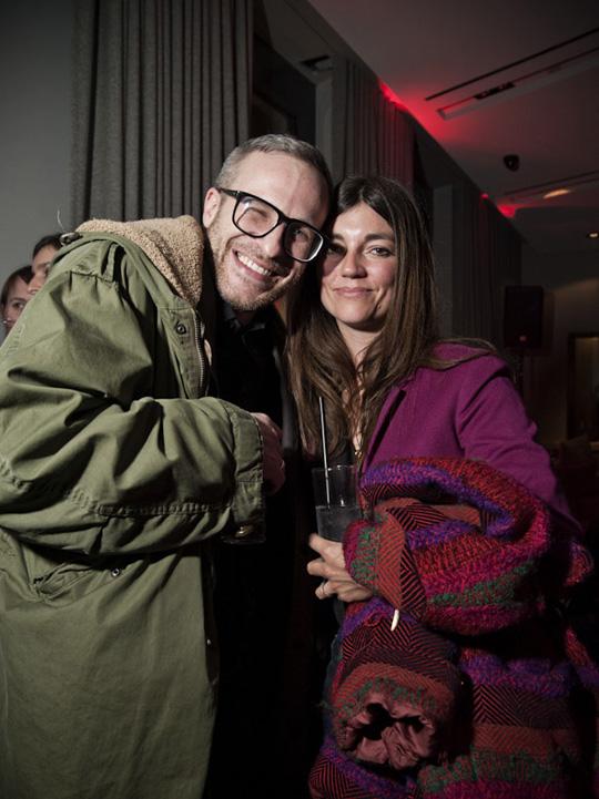 Gestalter Chris Rehberger und Illustratorin Sarah Illenberger
