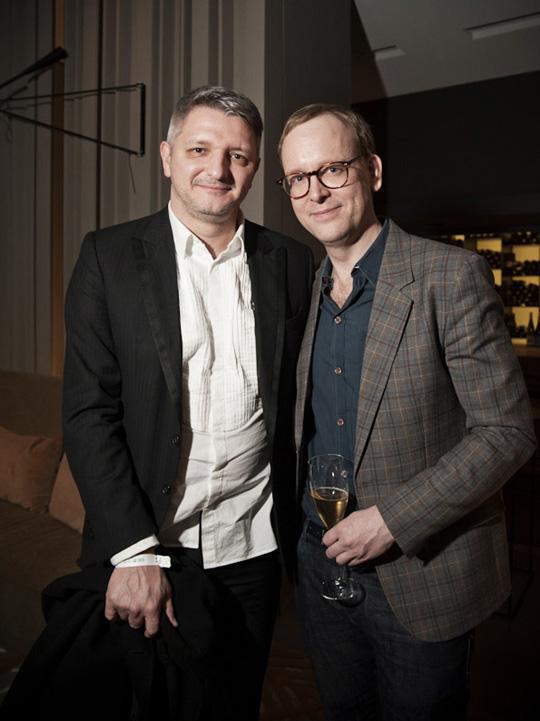 Designer Dirk Schönbeger und Christoph Amend