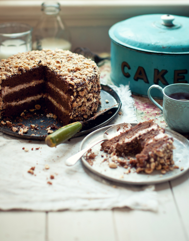 Frangelico Hazelnut Cake