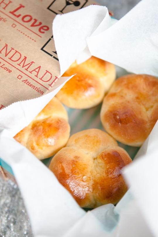 Brioches mit Vanille aus der Muffinform - Mirja Hoechst - kuechenchaotinDE