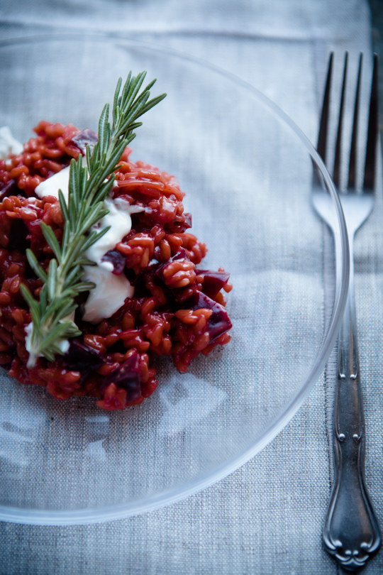 Rote-Bete-Risotto - Mirja Hoechst - kuechenchaotinDE