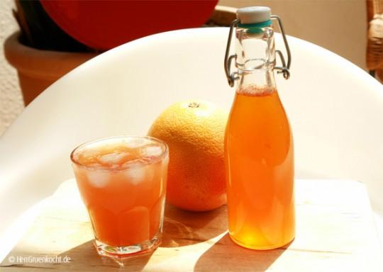 Grapefruitsirup