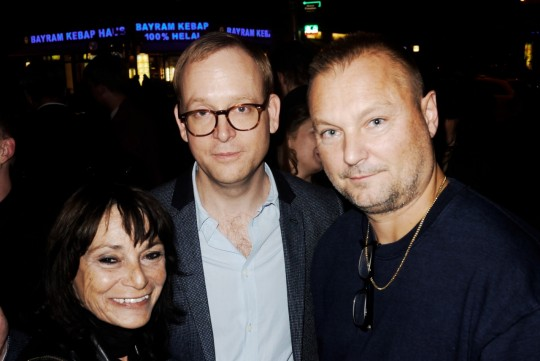 Esther Friedmann, Christoph Amend und Jürgen Teller