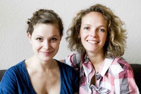 Lisa und Caro