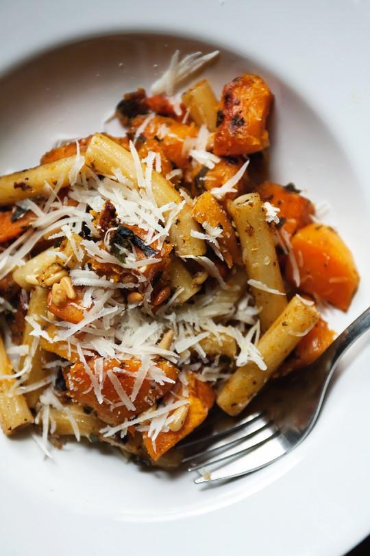 Tomato Soup Baked Sweet Potato Fries Pasta with Butternut Squash, Sage ...