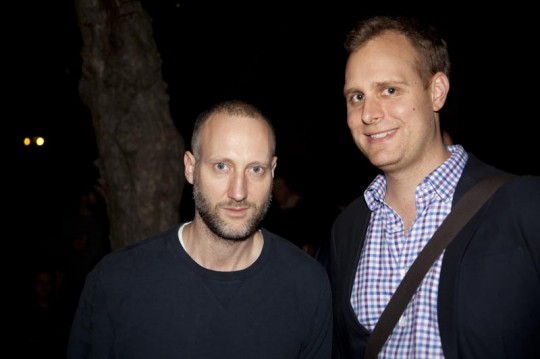 Felix Burrichter ( Pin-Up Magazin), Nicholas Kulish ( New York Times)