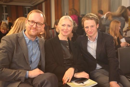 Gastgeber_Christoph Amend, Christiane Arp, Tillmann PrÅfer ∏Andreas Klehm